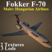 F70 MAH 3d model