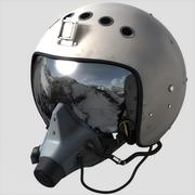 Russian Flight Helmet 3d model