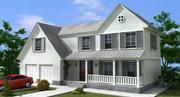 Maison américaine 3d model