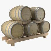 Wijnvaten Module 3d model