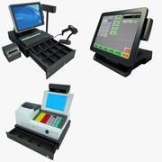 Cash Register Collection 01 3d model