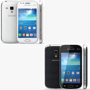 Samsung Galaxy S Duos 2 Black And White 3d model