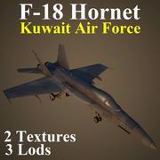F18 KAF 3d model