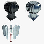 Industrial Turbine Collection 01 3d model