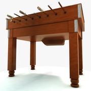 Футбольный стол 3d model
