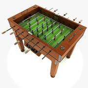 Mesa de futbol modelo 3d