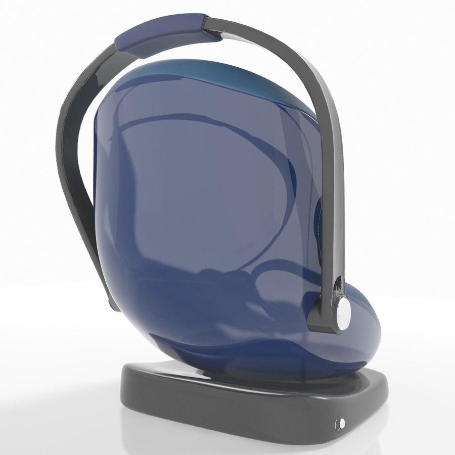 Spädbarns bilstol royalty-free 3d model - Preview no. 6
