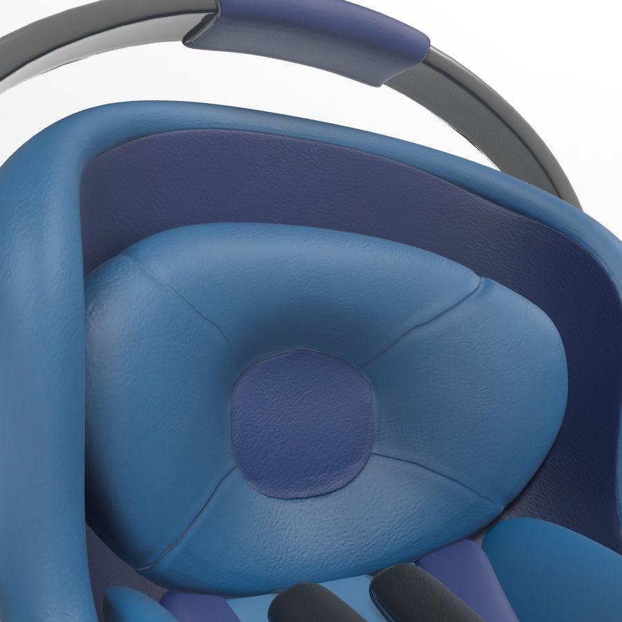 Spädbarns bilstol royalty-free 3d model - Preview no. 8