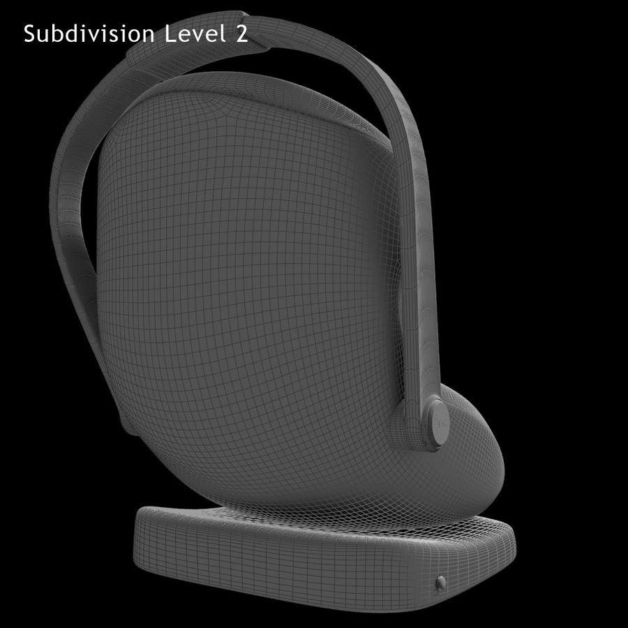 Spädbarns bilstol royalty-free 3d model - Preview no. 14