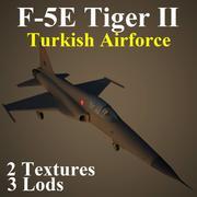 F5E TAF 3d model