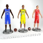Basketball Players V2 3d model