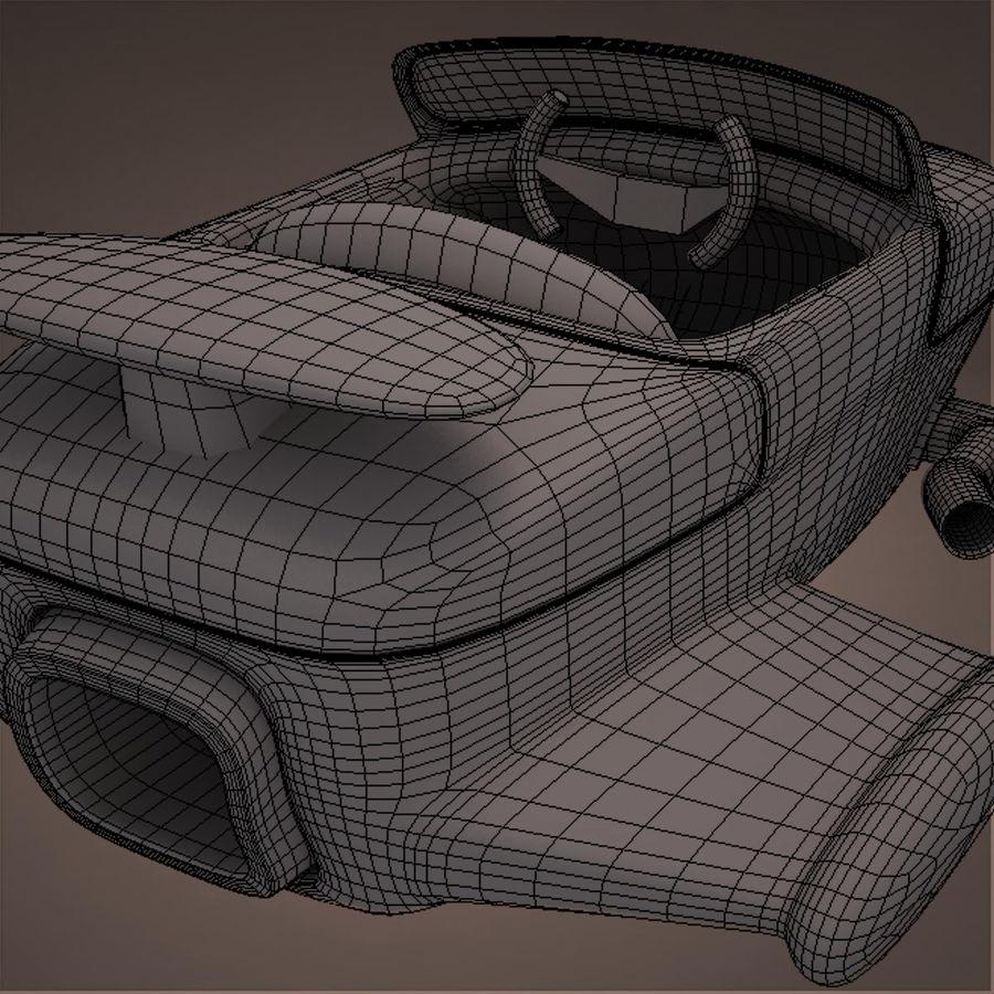 航空機 royalty-free 3d model - Preview no. 39