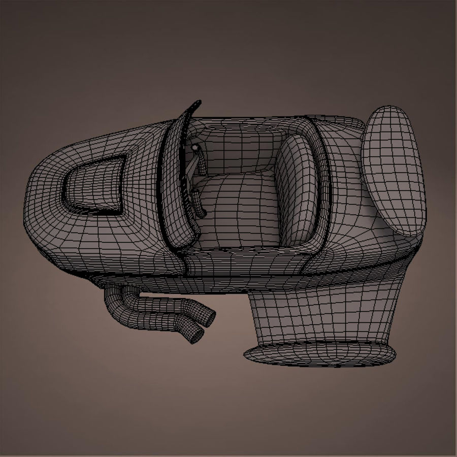 航空機 royalty-free 3d model - Preview no. 43