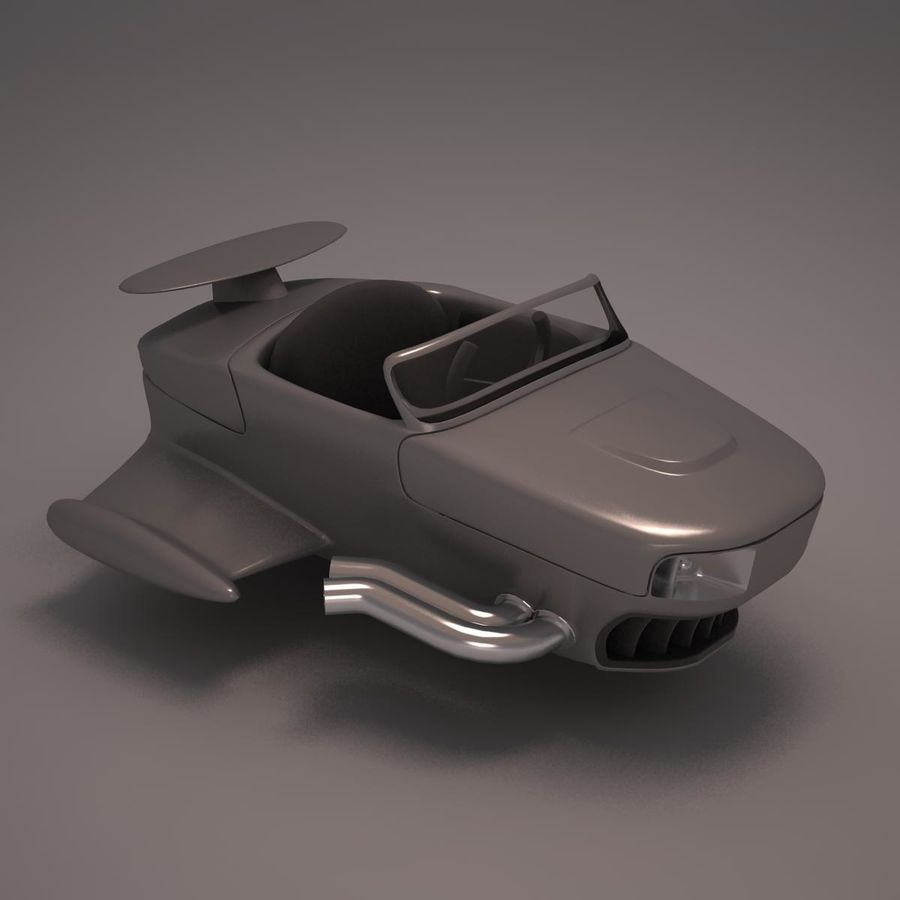 航空機 royalty-free 3d model - Preview no. 8