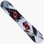 Olympic Snowboard 3d model