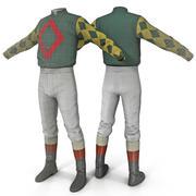 Jockeykleidung 2 3d model