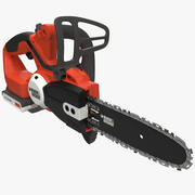 Cordless Chain Saw Black and Decker 2 3d model