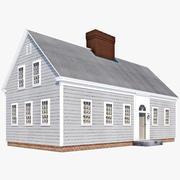 Maison de Cape Cod 3d model