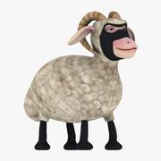 Owiec ninja 3d model