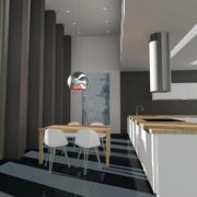 Modern Kitchen 3d model