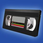 detailed VHS tape 3d model
