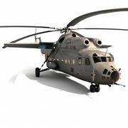 Mil Mi-6 Helicopter 3d model