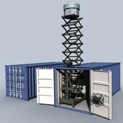 Клуб-К радар 3d model