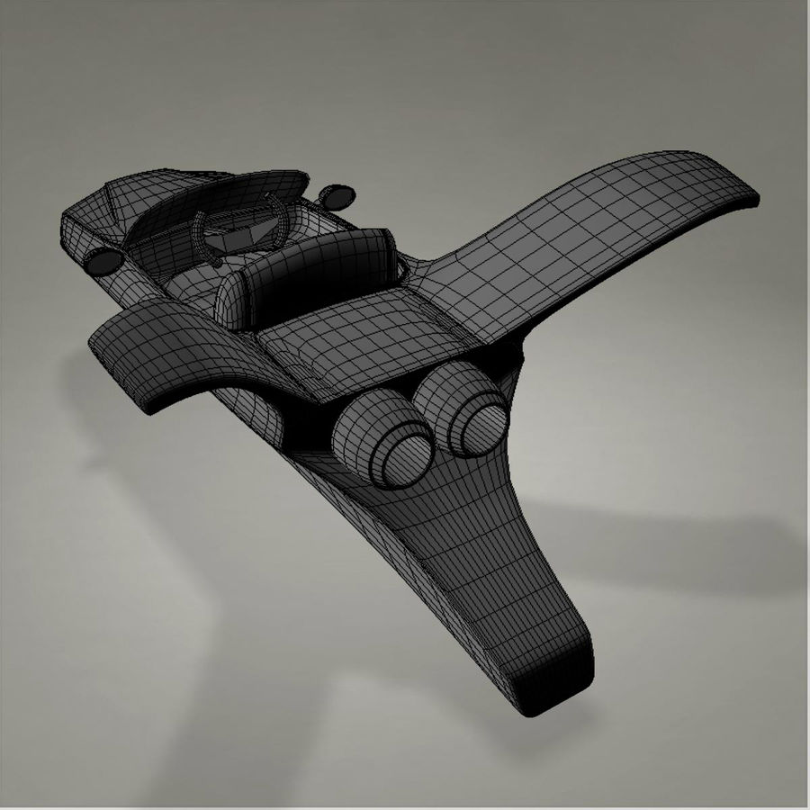 Aircraft royalty-free 3d model - Preview no. 18
