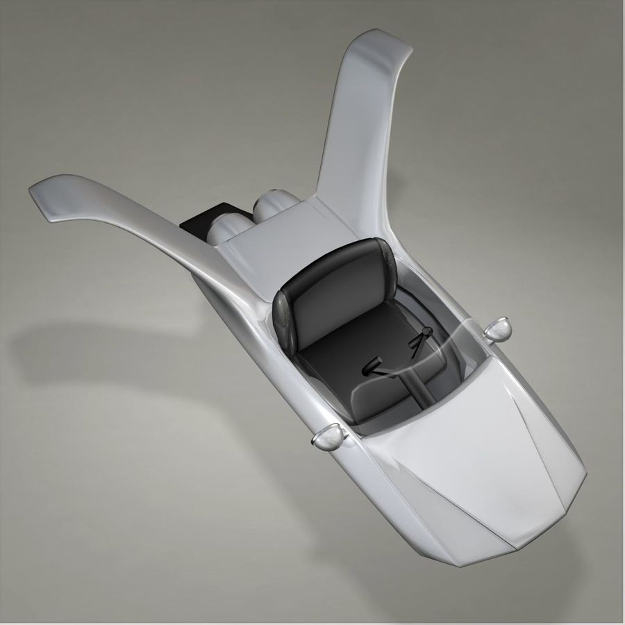 Aircraft royalty-free 3d model - Preview no. 10