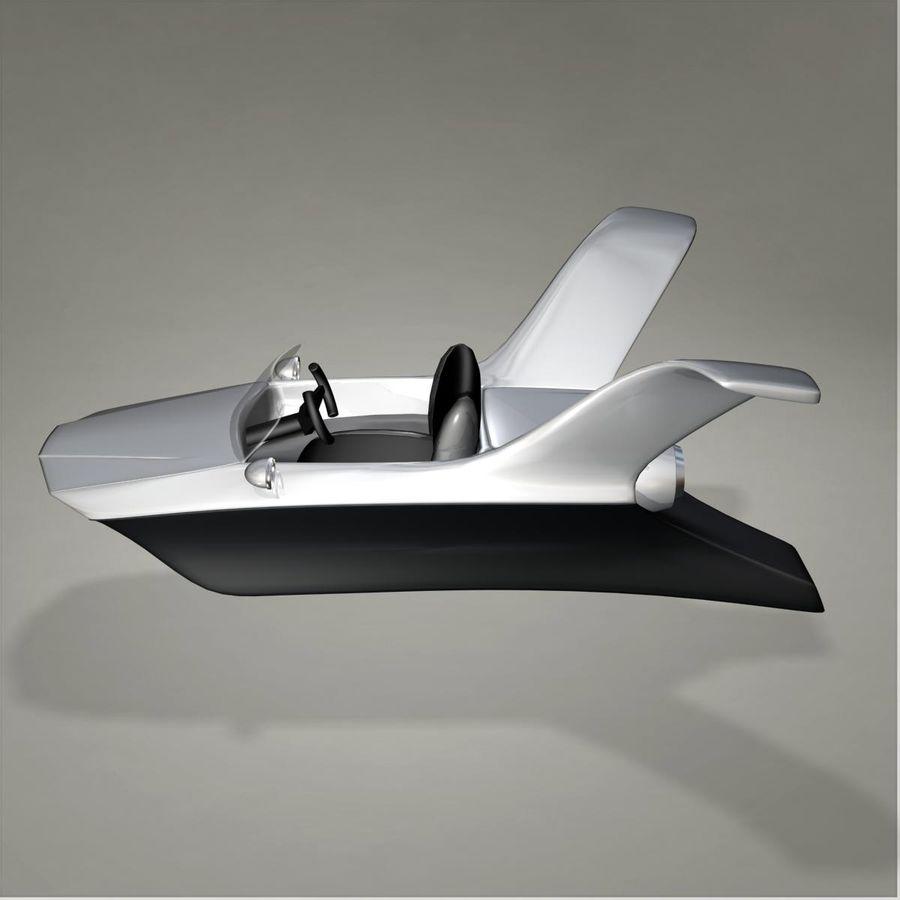 Aircraft royalty-free 3d model - Preview no. 2