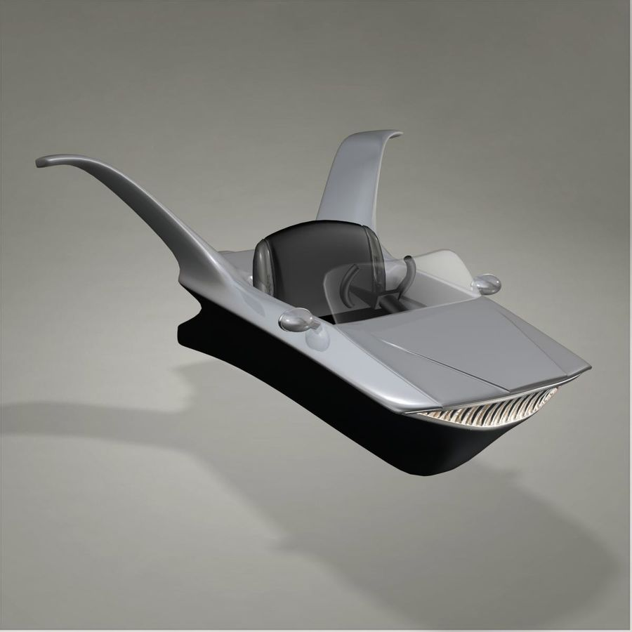 Aircraft royalty-free 3d model - Preview no. 7