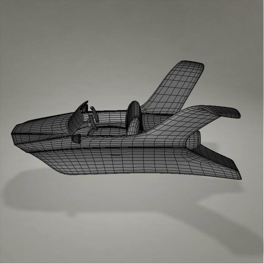 Aircraft royalty-free 3d model - Preview no. 17