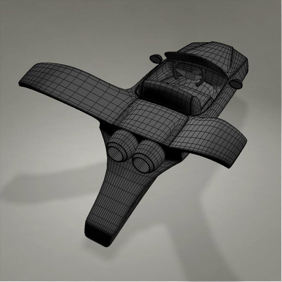 Aircraft royalty-free 3d model - Preview no. 20