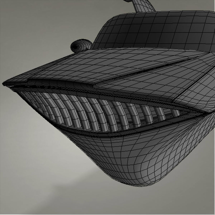 Aircraft royalty-free 3d model - Preview no. 29