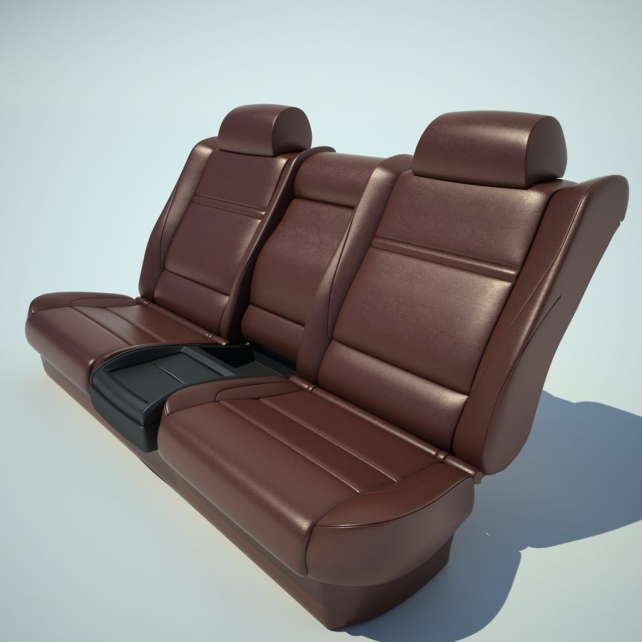 Auto Chairs 01 royalty-free 3d model - Preview no. 31