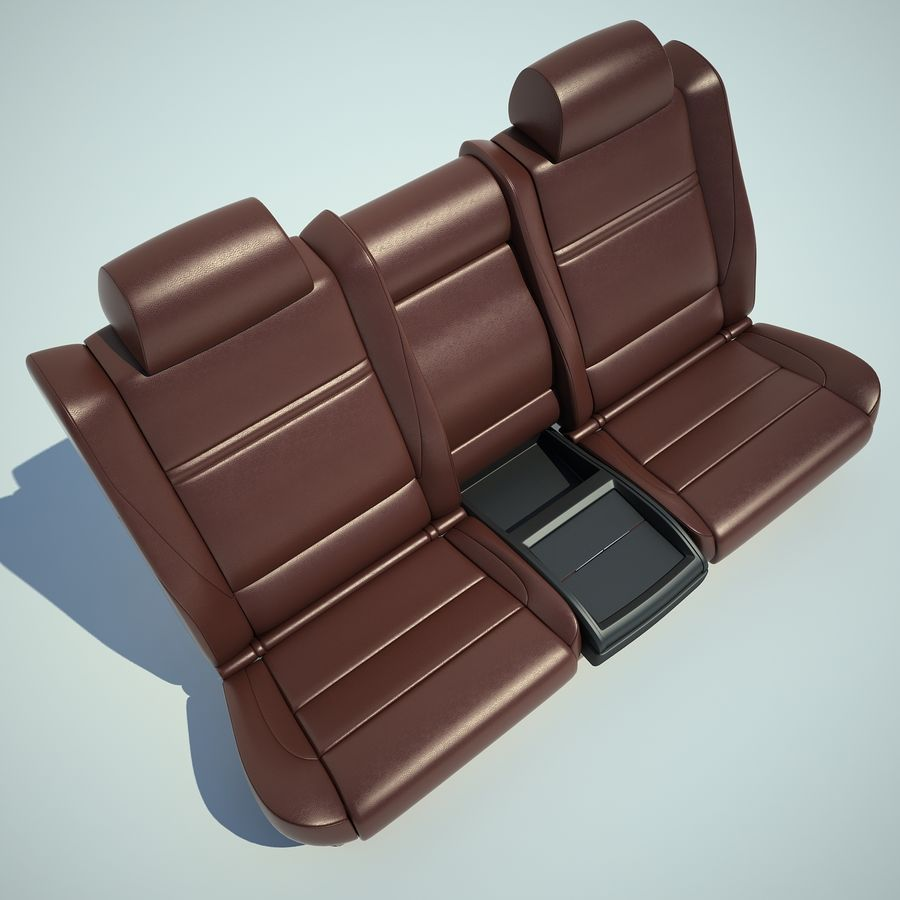 Auto Chairs 01 royalty-free 3d model - Preview no. 38