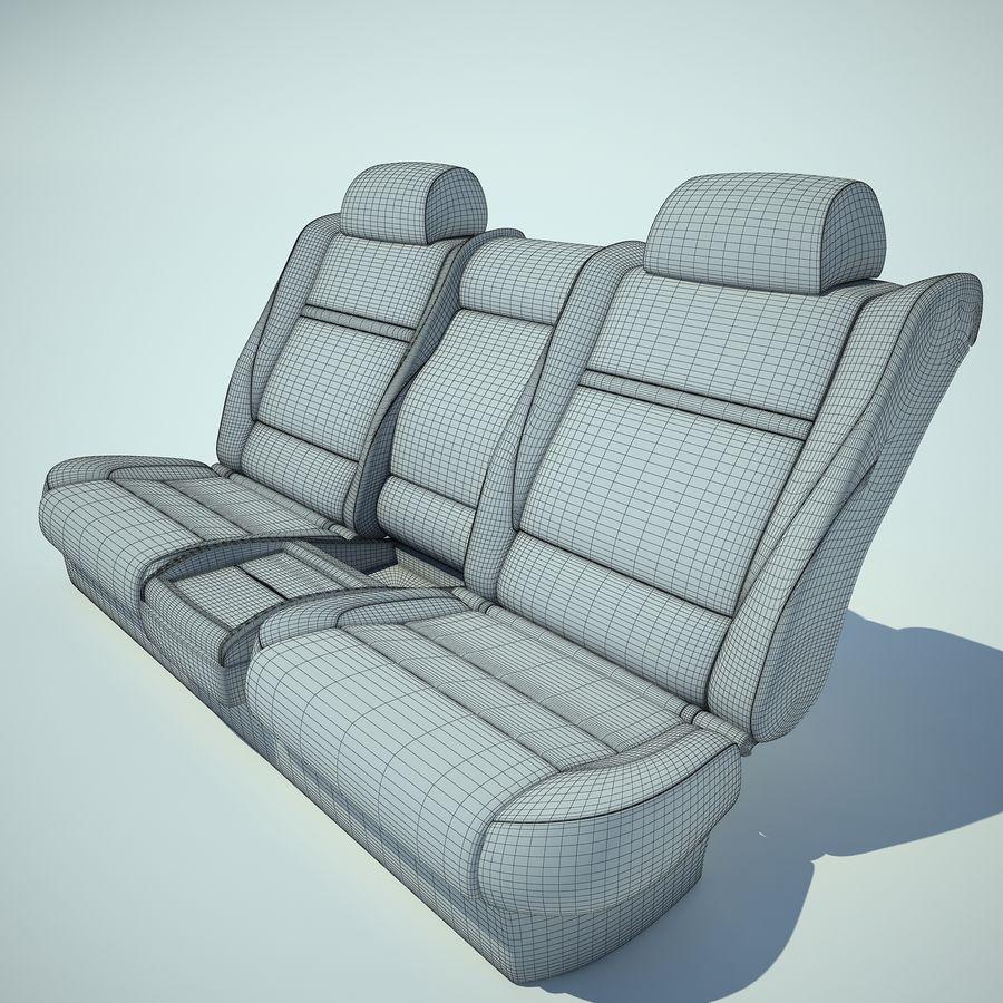 Auto Chairs 01 royalty-free 3d model - Preview no. 32