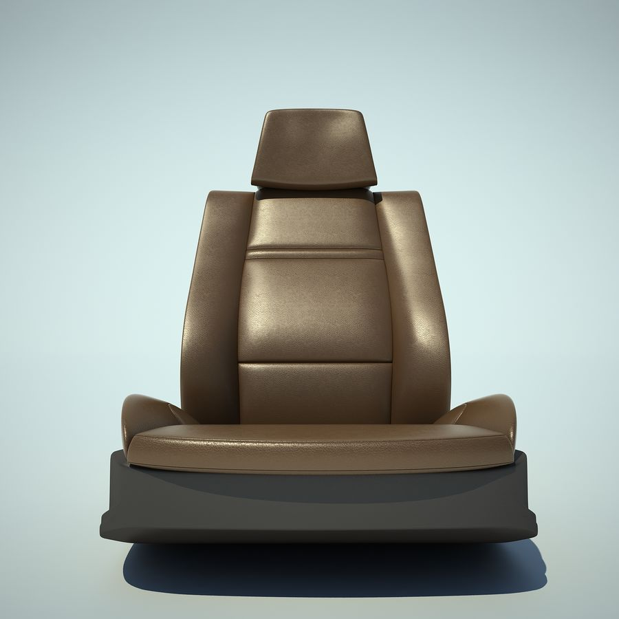 Auto Chairs 01 royalty-free 3d model - Preview no. 19