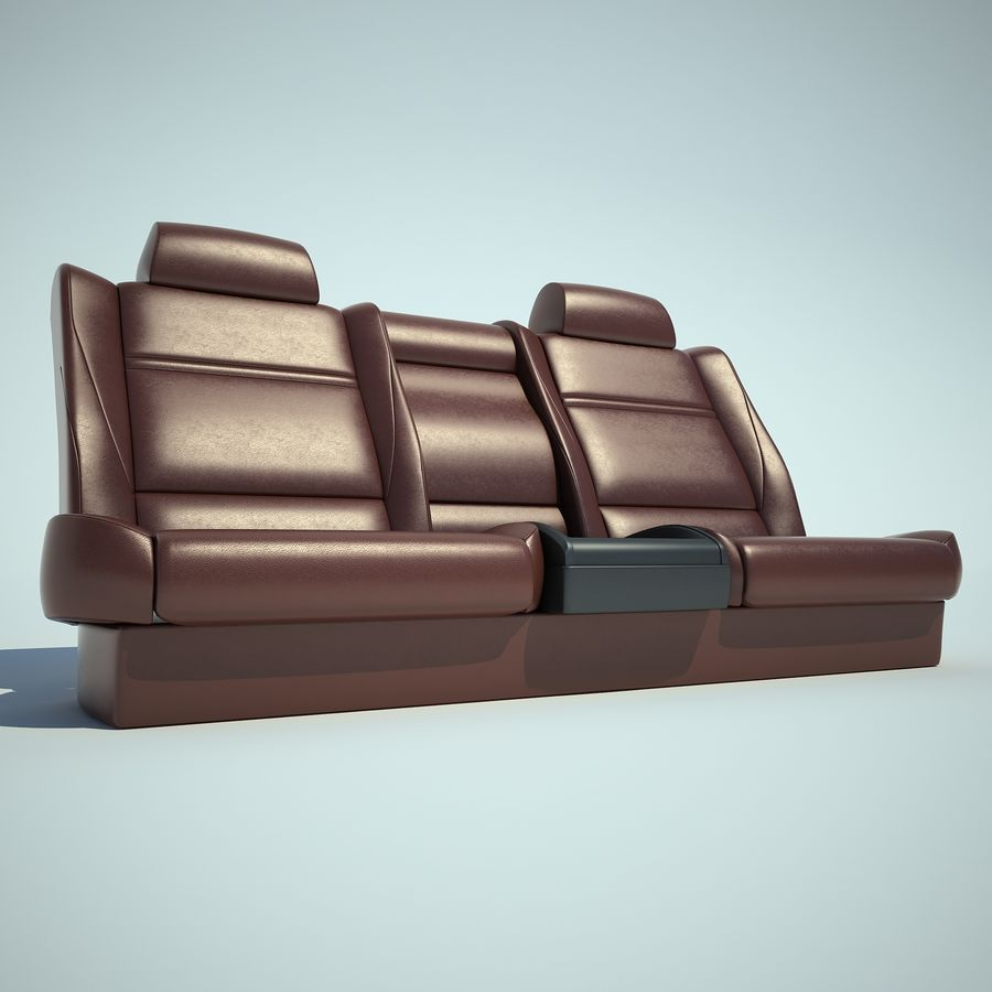 Auto Chairs 01 royalty-free 3d model - Preview no. 36