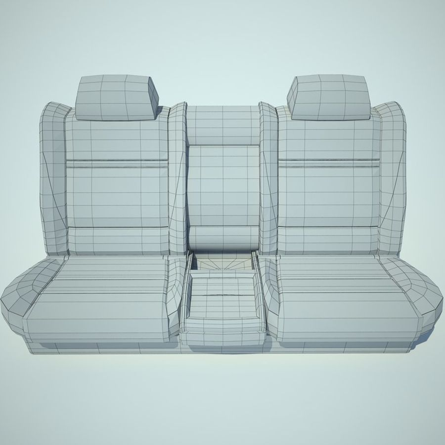 Auto Chairs 01 royalty-free 3d model - Preview no. 35