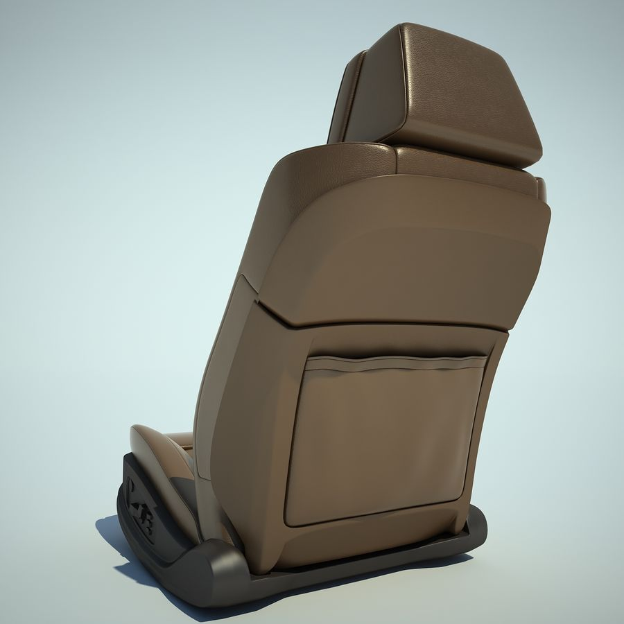 Auto Chairs 01 royalty-free 3d model - Preview no. 25