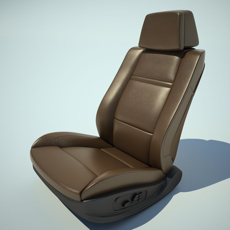 Auto Chairs 01 royalty-free 3d model - Preview no. 16