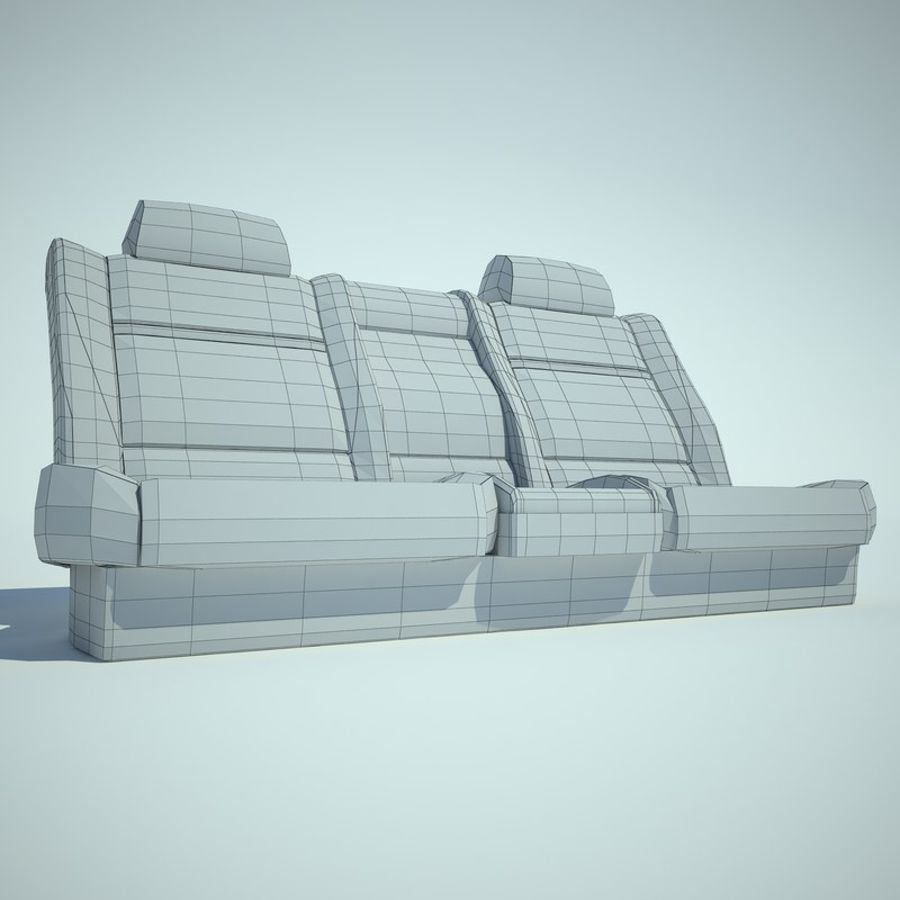Auto Chairs 01 royalty-free 3d model - Preview no. 37