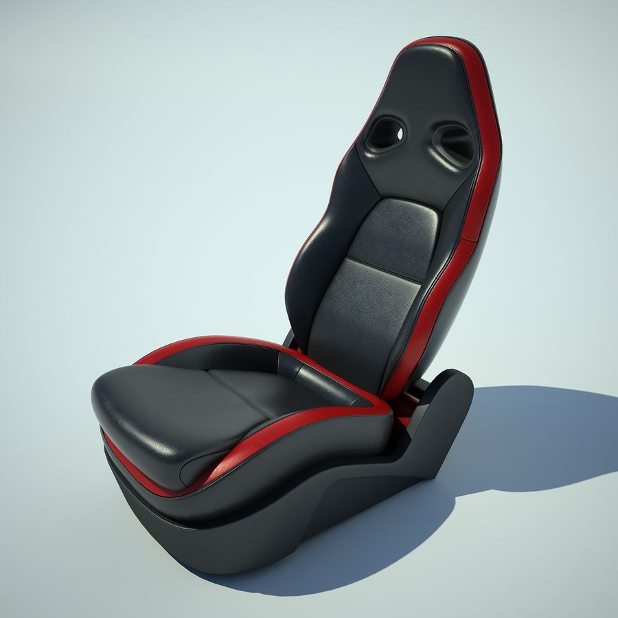 Auto Chairs 01 royalty-free 3d model - Preview no. 3
