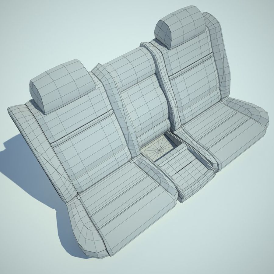 Auto Chairs 01 royalty-free 3d model - Preview no. 39