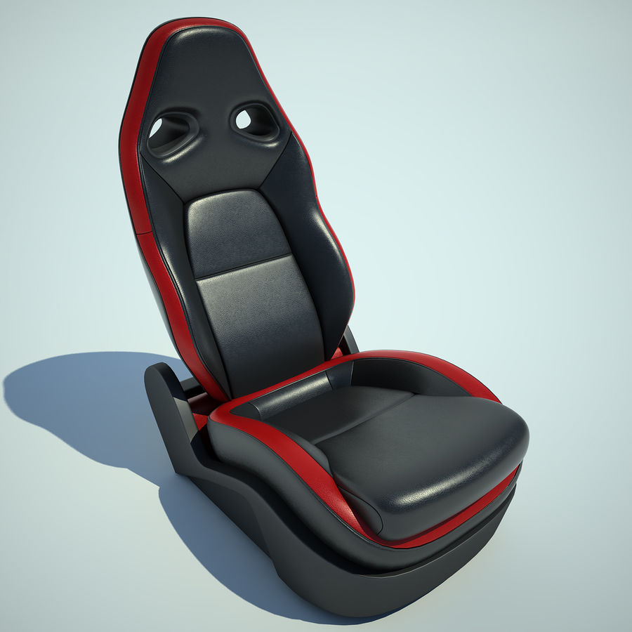 Auto Chairs 01 royalty-free 3d model - Preview no. 2