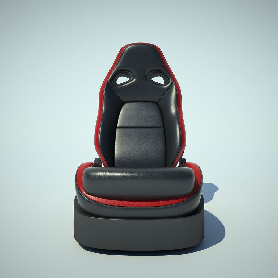 Auto Chairs 01 royalty-free 3d model - Preview no. 6