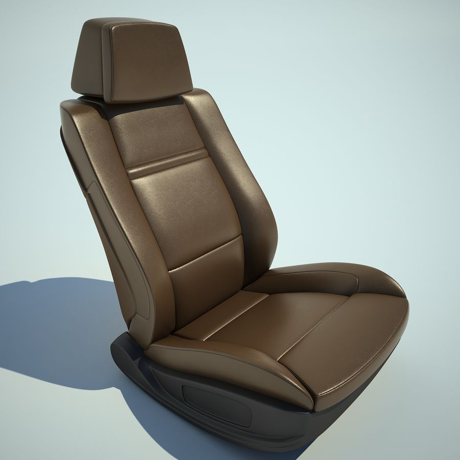 Auto Chairs 01 royalty-free 3d model - Preview no. 21