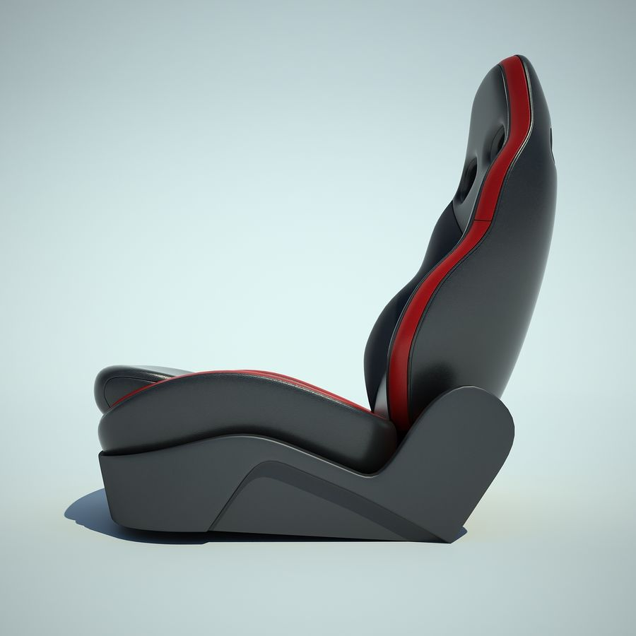 Auto Chairs 01 royalty-free 3d model - Preview no. 10