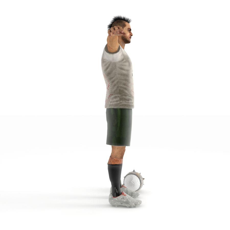 Futbol Zombi Katili royalty-free 3d model - Preview no. 4